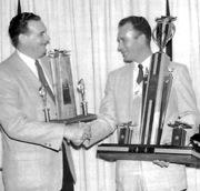 Rex Manchester High Points winner 1958