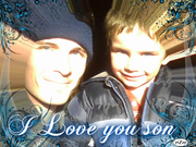 C Love and his son