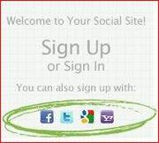 Simpel inloggen met je Social Media account