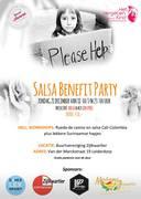 BENEFIT SALSA PARTY Zondag 21 december te Leiderdorp