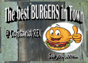 The best Burgers in Town @ Cafetaria REX