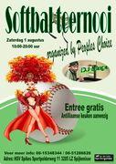 Softbal toernooi georganiseerd door Carnavalvereniging Peoples Choice