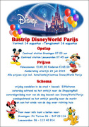 Busreis naar DisneyWorld Parijs