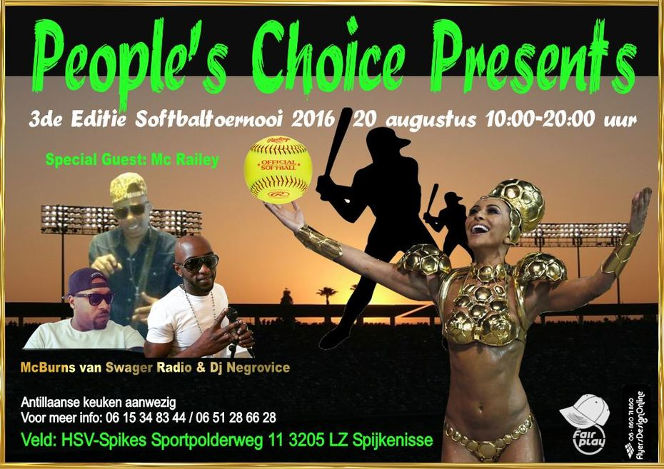 Softbal toernooi van People's Choice