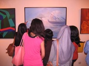 Art lovers who visited our exhibition