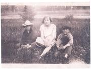 don patchen, hazel borgeson and Leslie per don's granddaughter