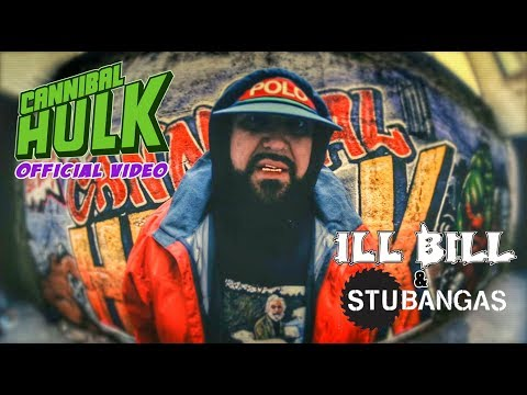 ILL BILL & STU BANGAS - CANNIBAL HULK (Official Music Video)
