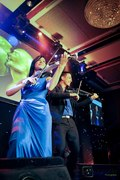 Linzi Stoppard & Ben Lee FUSE perform at The World Travel Awards 2012