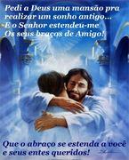 abraço, jesus