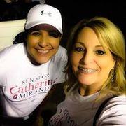with Senator Catherine Miranda