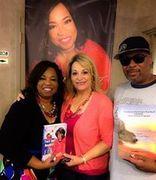 with Corletta Vaughn in Detroit