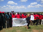 Youth from various communities in Rift Valley participate in various sport events, their chaperons, pastors coordinating them