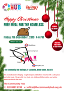 The Hub Community Centre Meal for the homeless