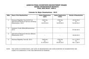ASRB exam list_2015