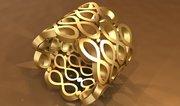 Eternity Ring - 3D Jewelry Prototype Rendering