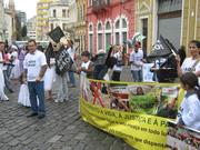 Manifesto contra Ahmadinejad em Curitiba