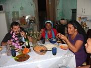 Kabalat Shabat na casa do Rosh Maorel