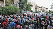 Manifestações por todo Israel