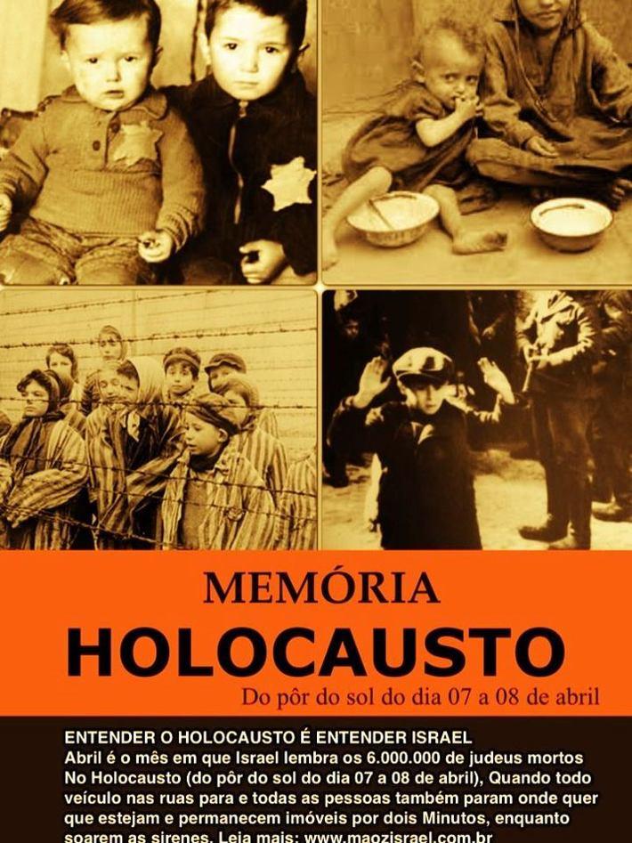 Memória do Holocausto (Shoah) - 7 e 8 Abril 2013
