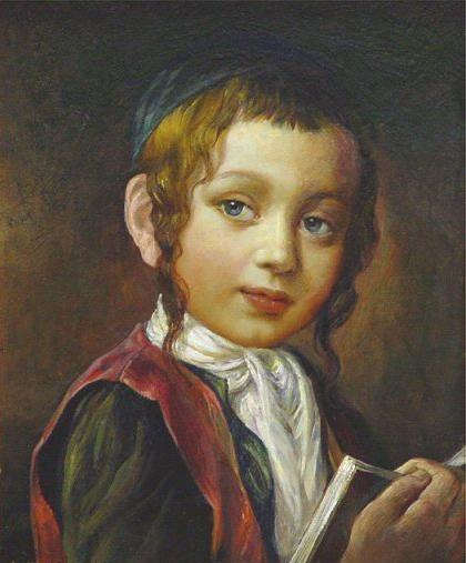 A Jewish Boy (Elena Flerova)