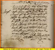 BATISMO - 1697 - JOSEPH GOMES BRANQUINHO - PT