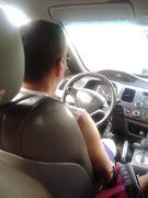 dirigindo nosso Honda New Civic  indo com a familia para BrasiliaDF dezembro de 2012 (1)