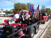 MECCA musicians in the Veterans Day Parade - Killeen Texas 11/11/2011