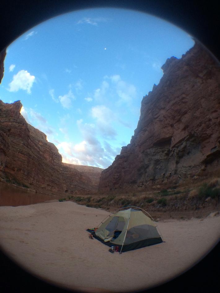 Liza's tent
