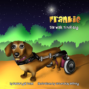Frankie the Walk 'N Roll Dog book series