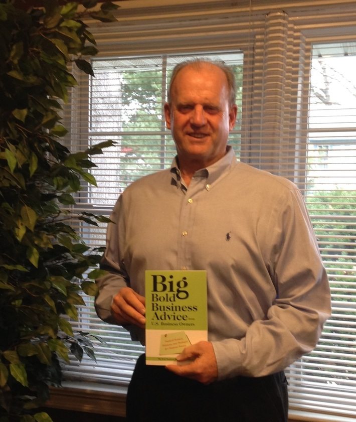 BJ holding Donna Thompson's book