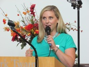 Local celebrity was emcee at CT authors day