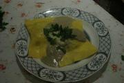 plate of ravioli
