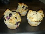 mmmm.. Blueberry Muffins.
