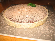 Dessert: Chocolate tart