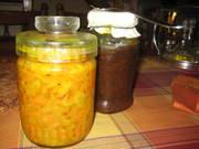 Homemade chutney and relish