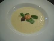 Potato foam soup