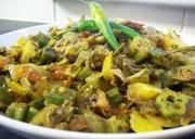 Spicy Okra Masala(Bhindi)