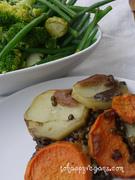 Puy lentil hot pot