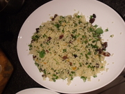 Mixed Herb and Sweet Couscous Salad