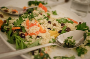 African Fusion Supper Club: Mixed Herb and Sweet Couscous Salad