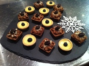 Christmas Dessert Canapes 2