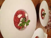Beetroot & Goats Cheese Risotto 2