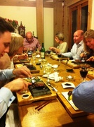 Diners enjoying Steak on the Stone