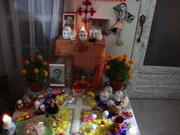 Altar muertos familiar