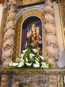 virgen Herrera en retablo