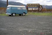 Big Blue at the Napa sign