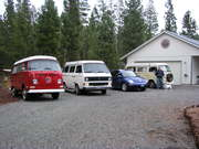 The VW Fleet at home