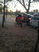 Blake and Ali riding