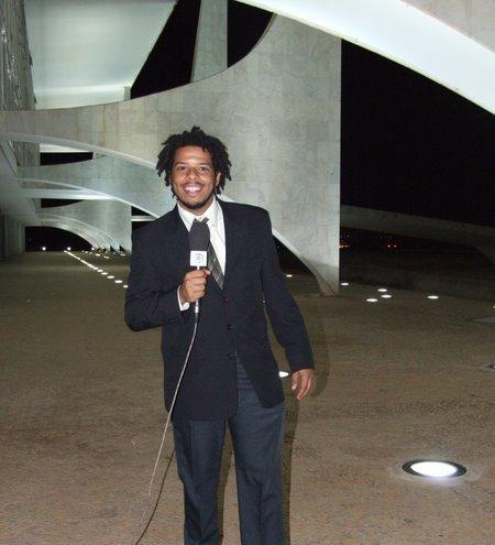 Jornalista André Santana
