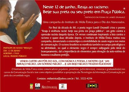 Campanha Beije sua pret@